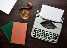 葡萄酒f类型打字机 图库摄影