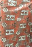 葡萄酒Jacuard室内装璜织品 库存图片