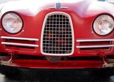 葡萄酒Saab 93正面图 免版税图库摄影