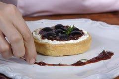 葡萄饼 免版税库存图片