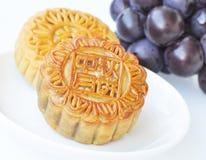 葡萄mooncakes 免版税库存照片