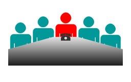 董事会业务会议 免版税库存图片