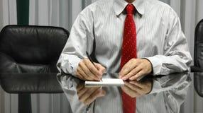 董事会业务经理空间 免版税库存图片