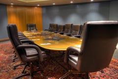 董事会会议会议室 免版税库存照片