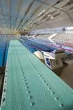 董事会室内游泳池春天游泳 免版税图库摄影