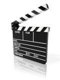 董事会拍板电影 免版税库存图片