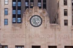董事会芝加哥贸易 免版税库存图片