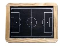 董事会足球 免版税库存照片