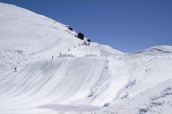 董事会跳的滑雪 免版税库存图片