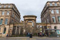 董事在爱丁堡,苏格兰,英国跨接 免版税库存图片