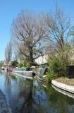 董事的运河在坎登,伦敦 免版税库存图片
