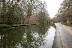 董事运河,伦敦早晨视图  免版税库存图片