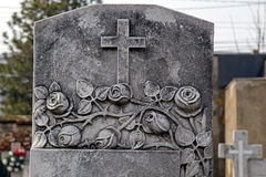 葬礼十字架16的类型 库存图片
