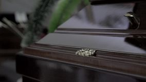 葬礼和哀悼的概念 影视素材
