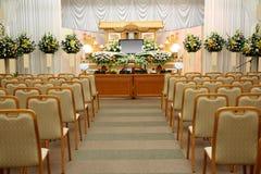 葬礼服务处 库存图片
