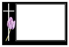 葬礼框架 图库摄影
