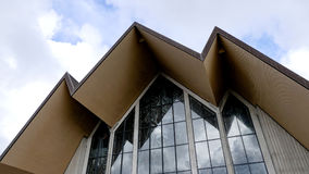 葬礼的一个好的教堂 库存图片