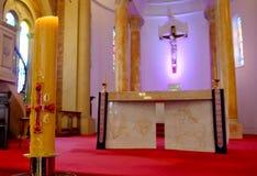 葬礼的好的教堂 库存图片
