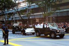 葬礼,新加坡李光耀先生的前总理 库存图片