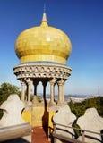 葱圆顶,辛特拉葡萄牙 图库摄影