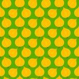 葱无缝的样式 免版税库存图片