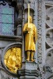 蒂埃里,富兰德的计数圣洁血液的大教堂的 免版税库存图片