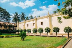 蒂普苏丹的颐和园在班加罗尔,印度 库存图片