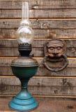 贝蒂灯和面具 免版税图库摄影