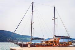 蒂瓦特,黑山 免版税库存图片