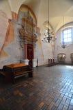 蒂科钦犹太教堂内部  图库摄影