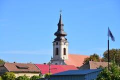 蒂米什瓦拉Mehala教会 免版税图库摄影
