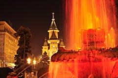 蒂米什瓦拉大教堂 库存图片