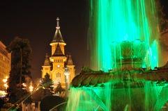 蒂米什瓦拉大教堂 免版税库存照片