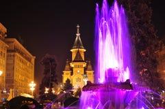 蒂米什瓦拉大教堂 免版税库存图片