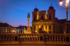 蒂米什瓦拉市,罗马尼亚 免版税库存图片