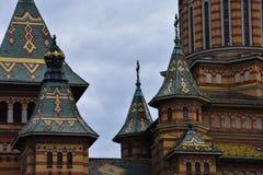 蒂米什瓦拉正统大教堂 免版税库存照片