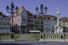 蒂米什瓦拉,罗马尼亚,欧洲,联合正方形 免版税库存图片