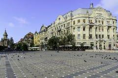 蒂米什瓦拉,罗马尼亚,欧洲,胜利正方形  免版税库存照片