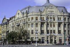 蒂米什瓦拉,罗马尼亚,欧洲,胜利正方形  图库摄影