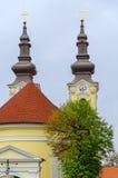 蒂米什瓦拉,罗马尼亚- 2016 10月15,塞尔维亚Orthorox教会最旧一个在蒂米什瓦拉 库存图片