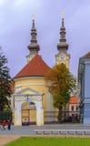 蒂米什瓦拉,罗马尼亚- 2016 10月15,塞尔维亚Orthorox教会最旧一个在蒂米什瓦拉 库存照片