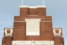 蒂耶普瓦勒战争纪念建筑 库存照片