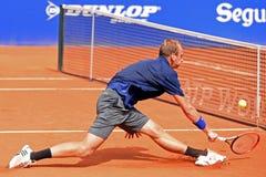蒂莫・德・巴克(从荷兰的网球员) 库存照片