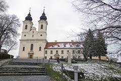 蒂豪尼修道院在匈牙利 库存图片
