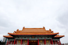 蒋中正纪念,国家戏院和国家音乐厅台北,台湾 库存照片