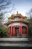 蒋介石雕象在阳明山国家公园的全国P Th亭子 免版税图库摄影