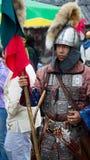 蒙古战士 免版税库存图片