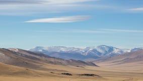 蒙古的山干草原 影视素材
