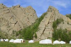 蒙古语热尔省 库存图片
