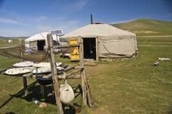 蒙古ger 免版税库存图片